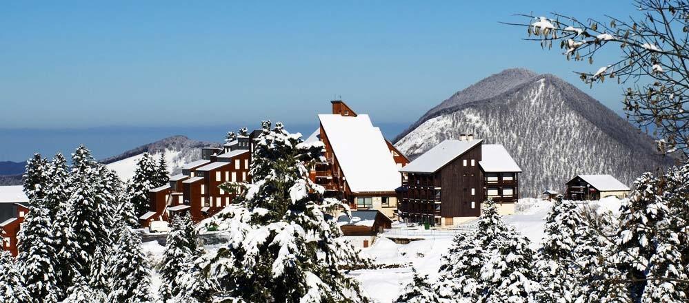 La station de ski de Guzet Neige