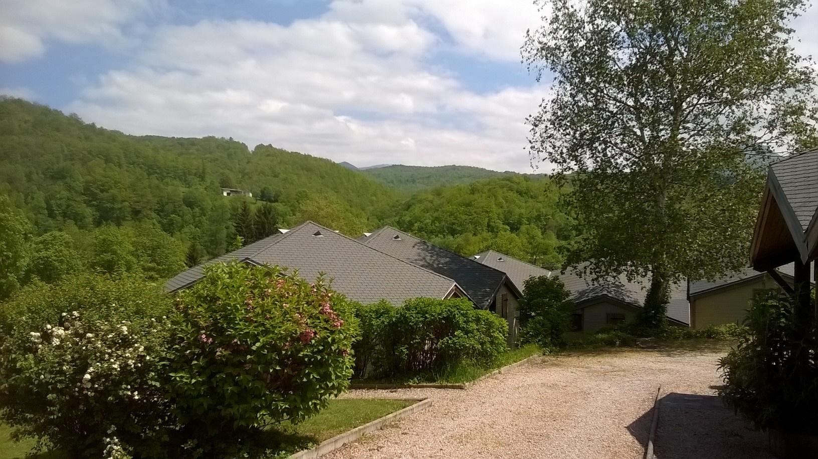Vue de montagne depuis le village