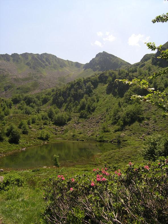 Etang de Labant à Coumebière en Ariège