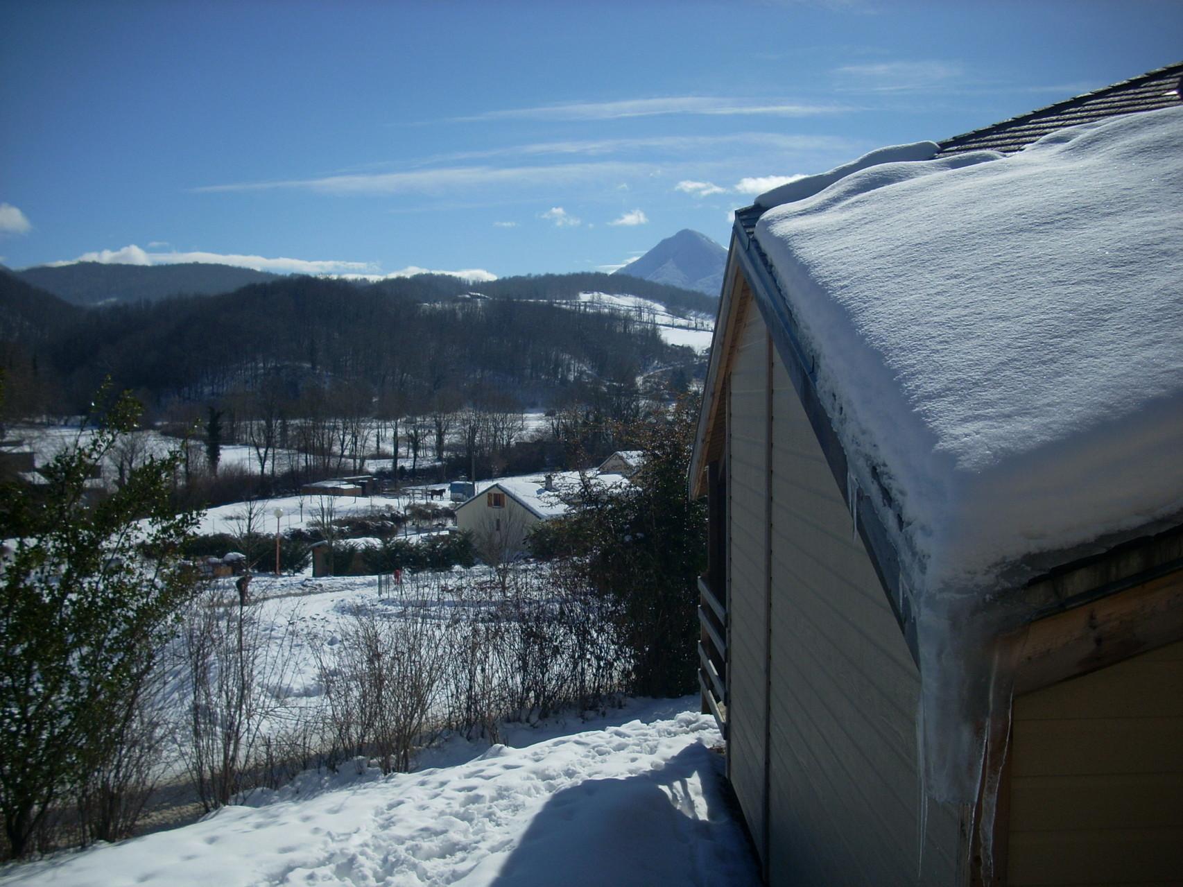 Village de Vacances Les 4 Chemins en hiver