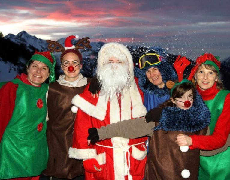 Animation Noël station de ski de Guzet