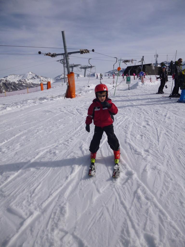Ski en famille à la station de Guzet