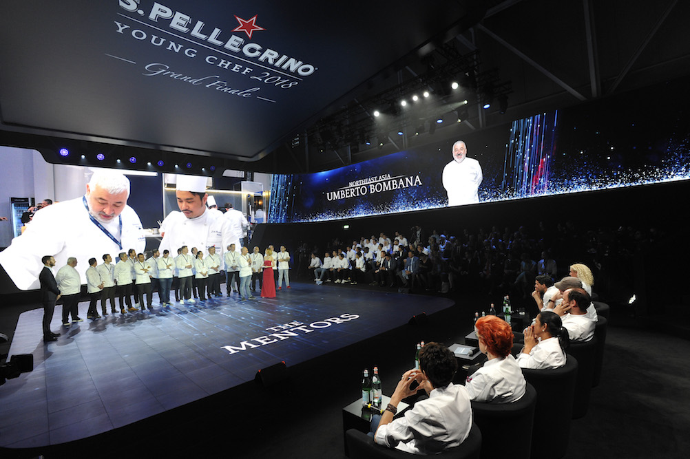 "Die Mentoren und die internationale Jury des ""S.Pellegrino Young Chef 2018"""