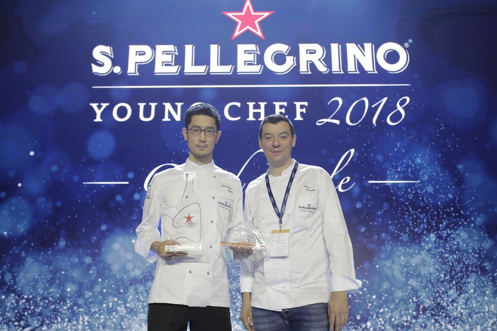Yasuhiro Fujio mit seinem Mentor Luca Fantin Foto: S.Pellegrino
