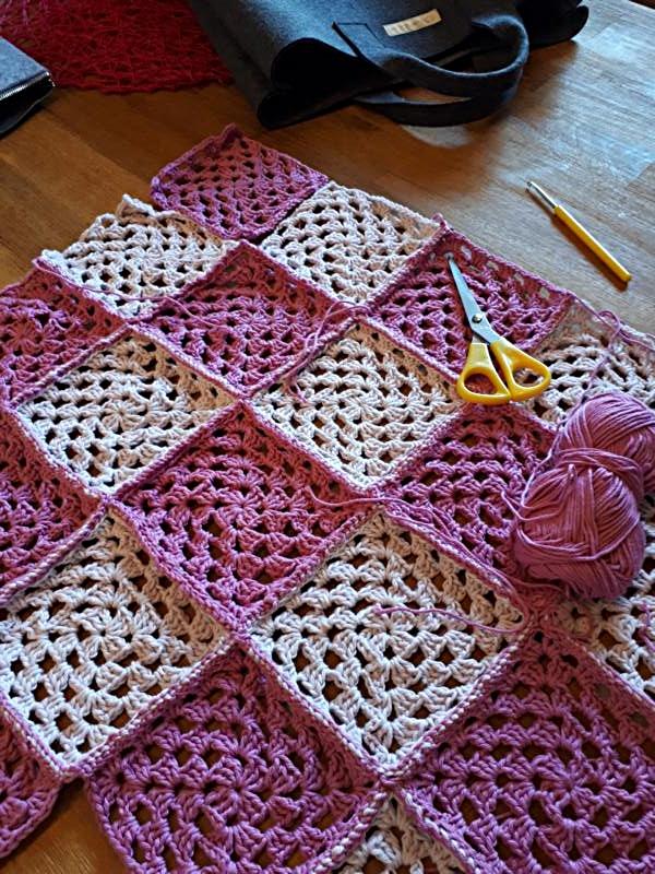 Meine neue Leidenschaft, das Granny Square Muster - claudia-baeumers ...