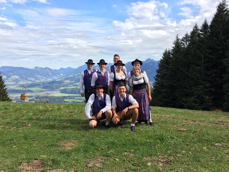 Bergmesse 2018 am Hörnerhaus bei Bolsterlang (i. Allg.) (Foto: Benedikt Nies)