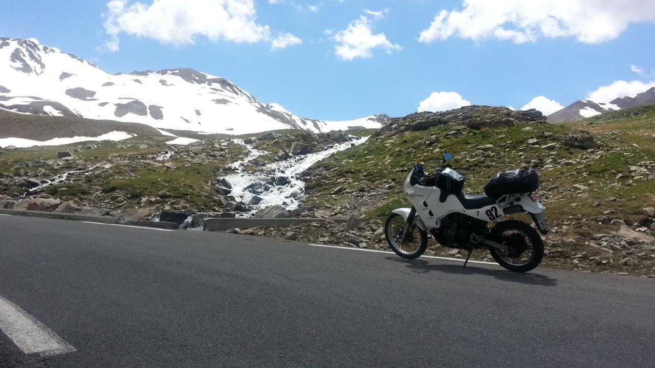 Auffahrt zum Col de la Bonette