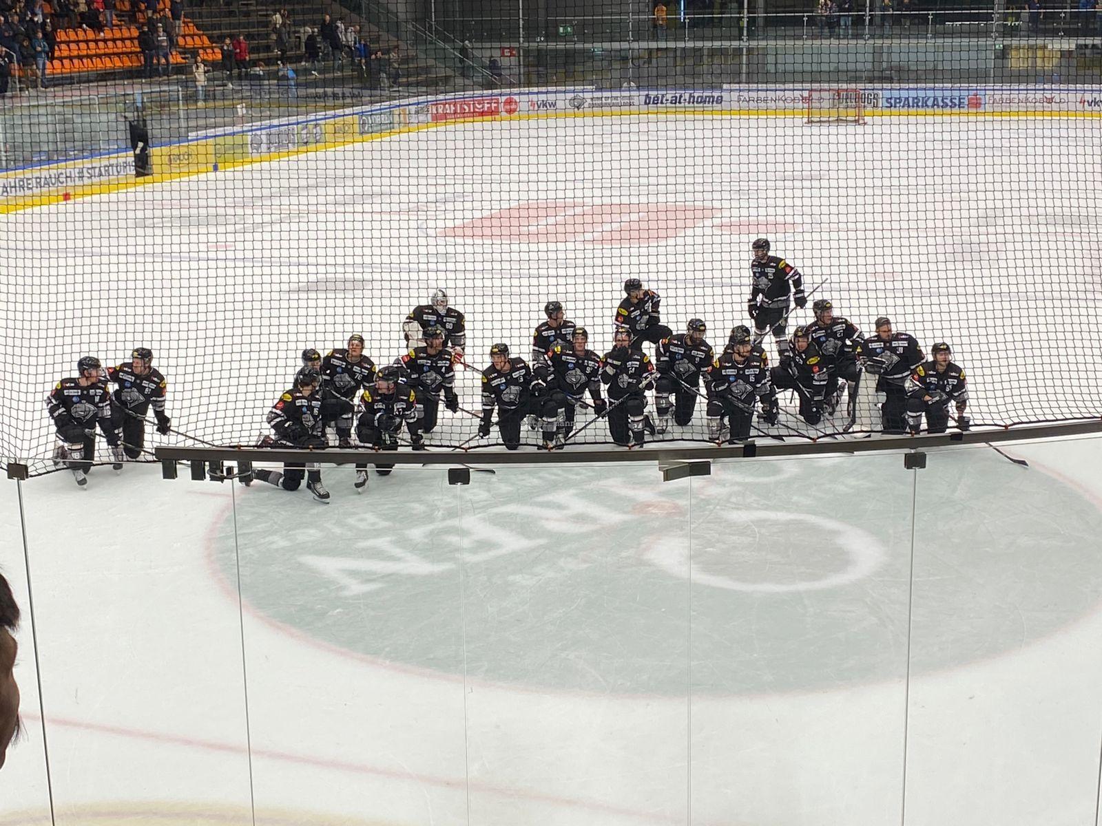 Die Bulldogs aus Dornbirn feierten gegen die Vienna Capitals einen verdienten 3:0-Sieg.