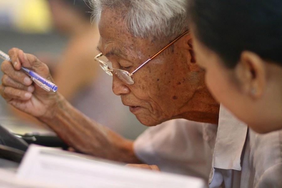 Ecrivain public (Ha Noi, Viet Nam)