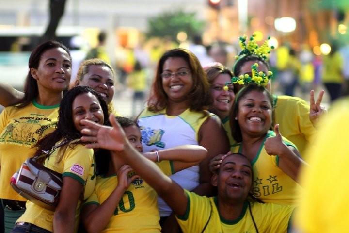 Coupe du monde football 2010 - Copacabana, Rio