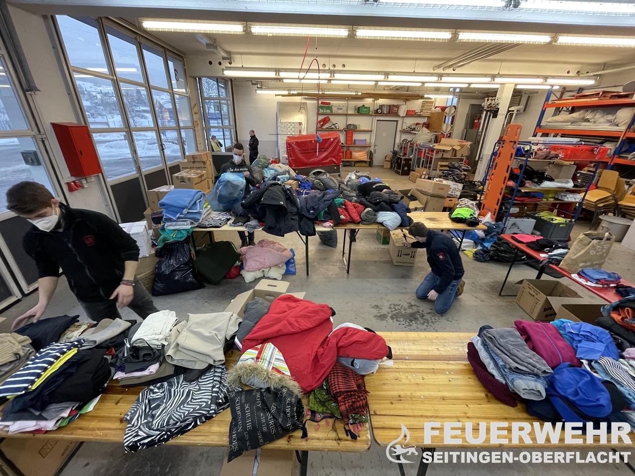 Erdbebenhilfe für Kroatien