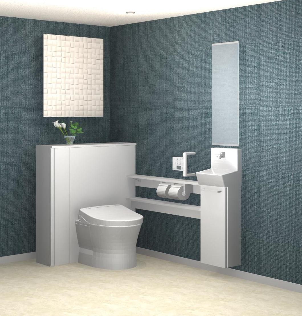 収納付きトイレが人気です!