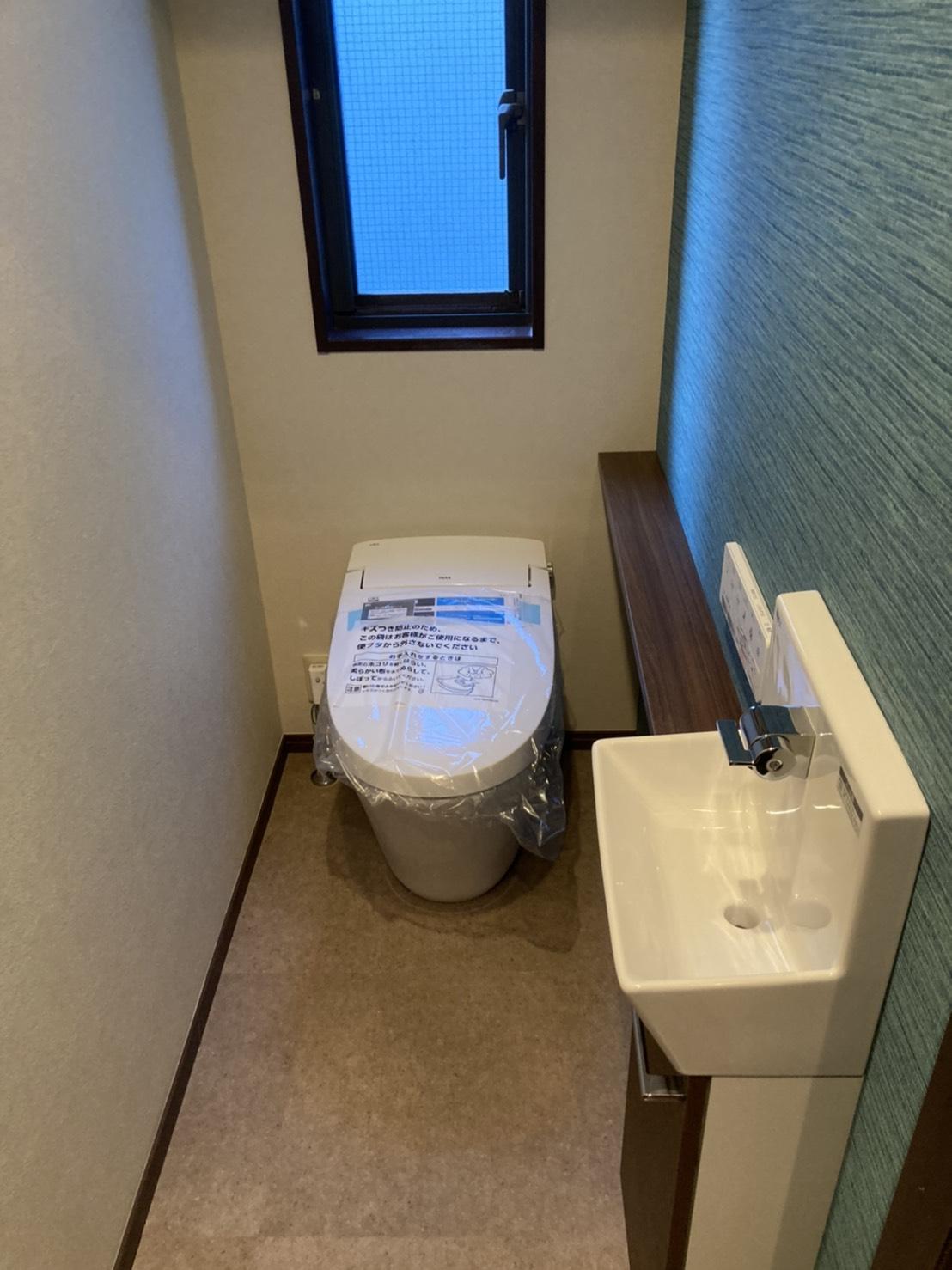 トイレ工事は段取り命!