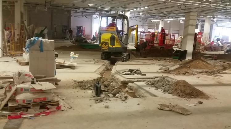 Umbauarbeiten August - November 2016
