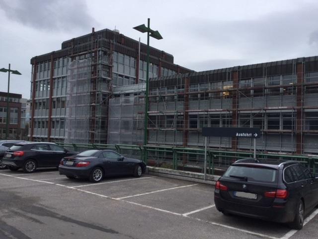 BGH 1 in Hamburg, Beschattungen und Fassadensanierung