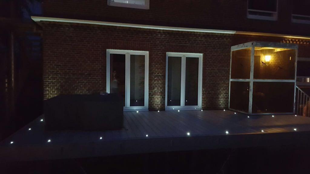 Aussen-Lichtsystem, LED Kaltweiß