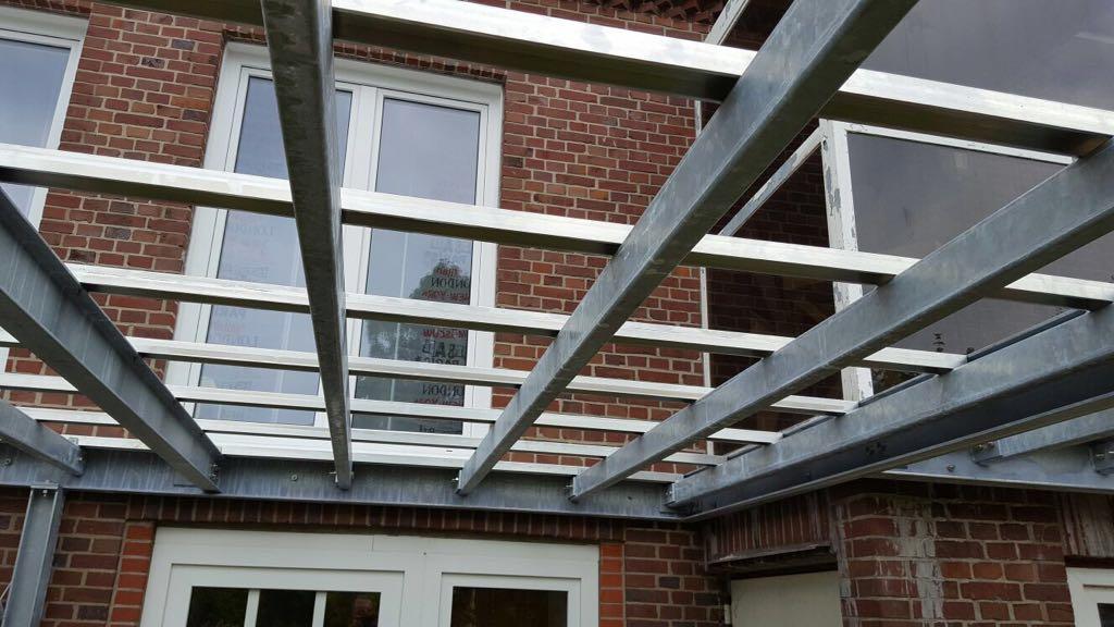 Aluminium-Unterkonstruktion