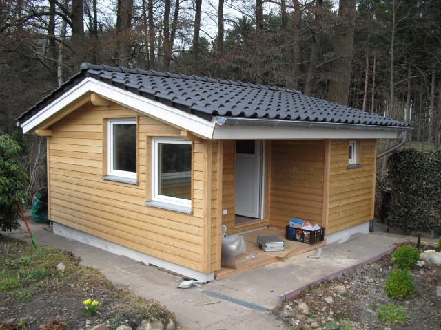 schlüsselfertiges Gartenhaus, wärmegedämmt