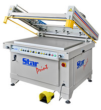 Siebdruckgeräte, Flachbett Siebdruckmaschine STAR-Print