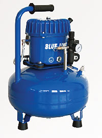 Transferpressen, Zubehör, Kompressor Blue-Line L-B50-25
