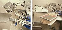 Siebdruckgeräte, KDM-6, Detailbild