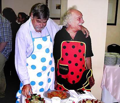 Uli und Günter in Granada 2004