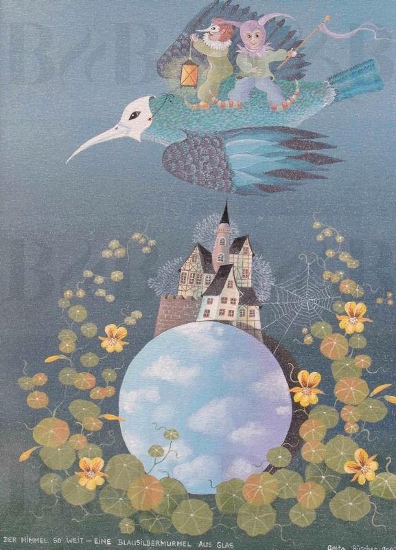 15 Der Himmel so weit - eine Blausilbermurmel, 2007