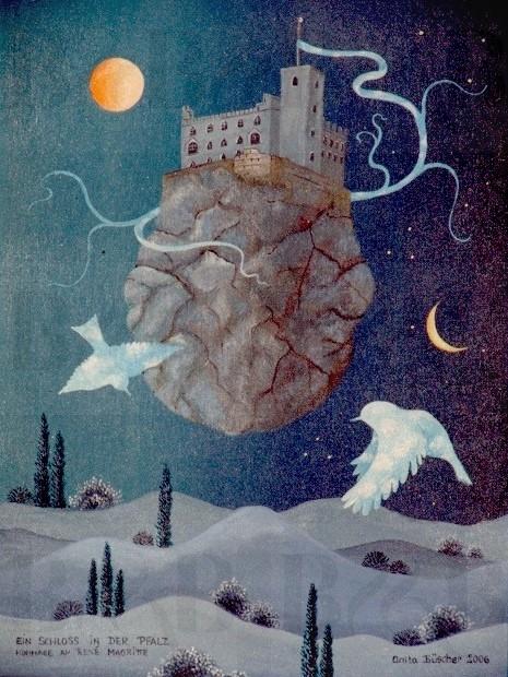 22 Ein Schloss in der Pfalz - Hommage an Magritte, 2006