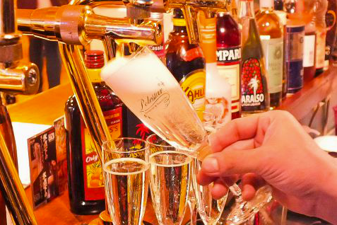 氷点下ビール エクストラコールドや樽詰スパークリングも大人気!!