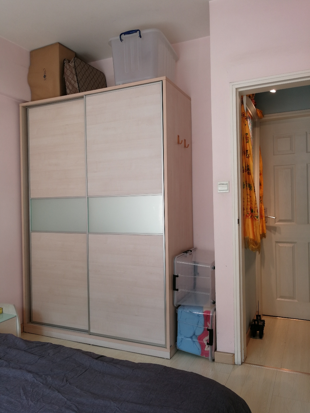 Storing space in Bedroom BR