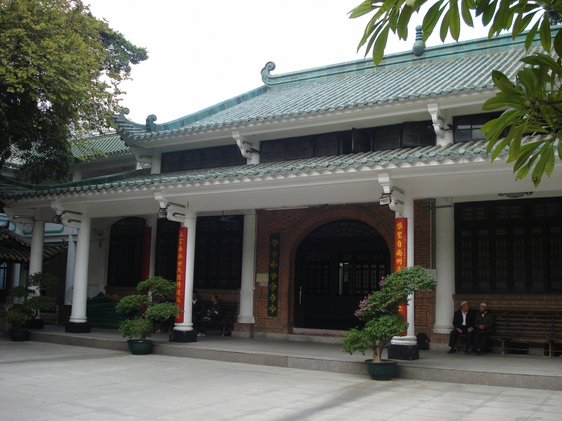 Huaisheng Mosque, Prayer Hall