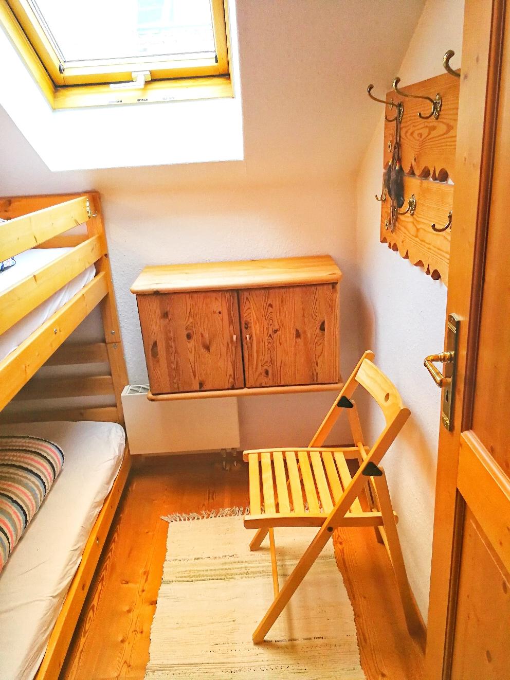 Das wirklich kleine 2. Schlafzimmer