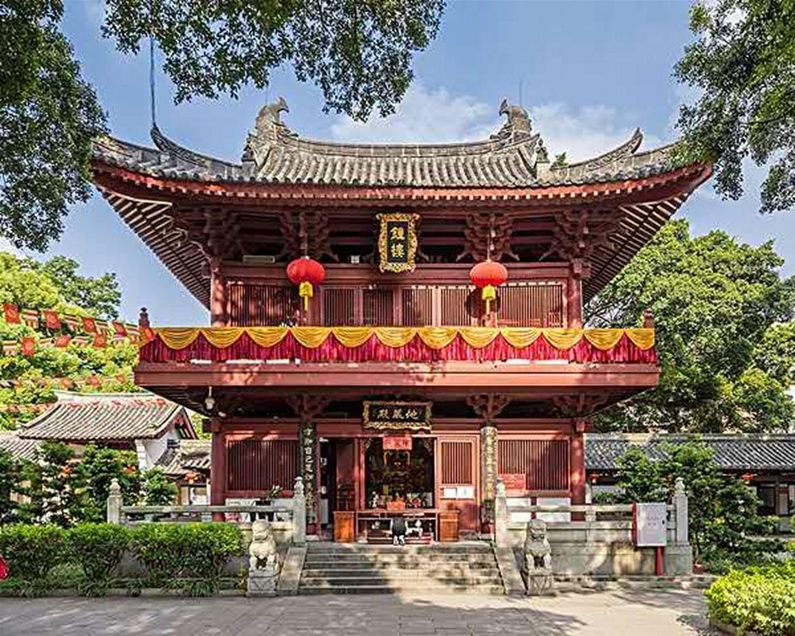 Guangxiao Temple, inside