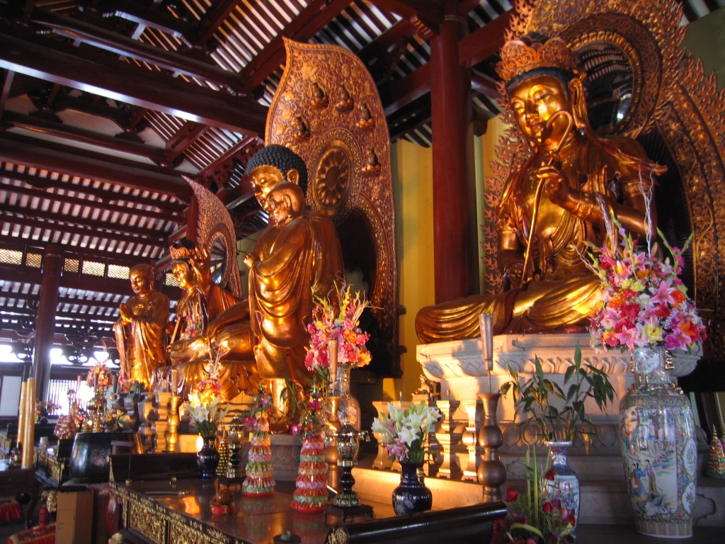Guangxiao Temple, inside
