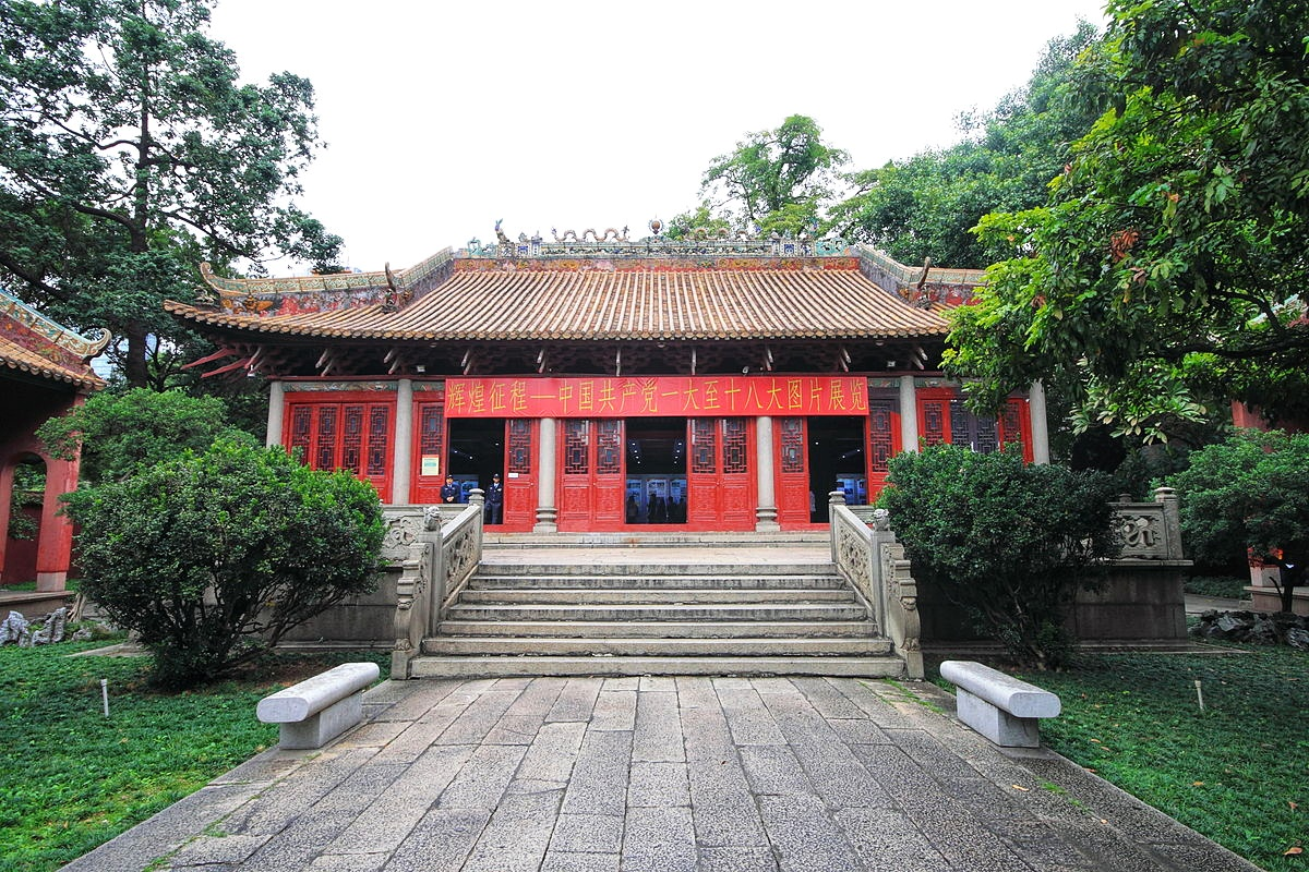 Guangxiao Temple, entry (15min)