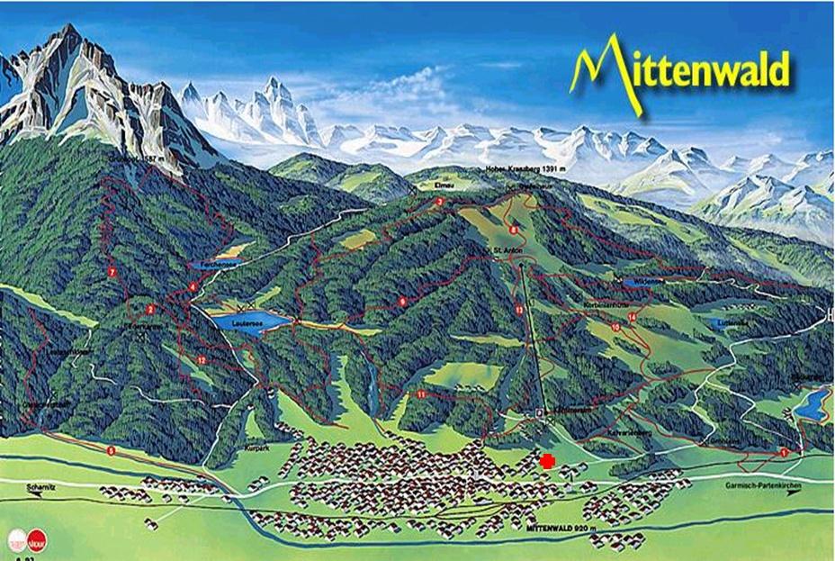 Kranzberg Wander- + Ski-Gebiet gleich hinterm Haus