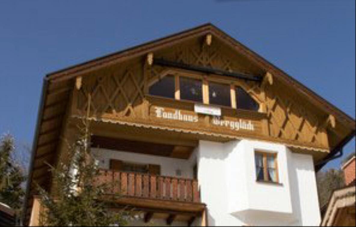 """Unsere Loggia mit """"1a Alpen-Panorama"""" im Dachgeschoss von Landhaus Bergglueck"""