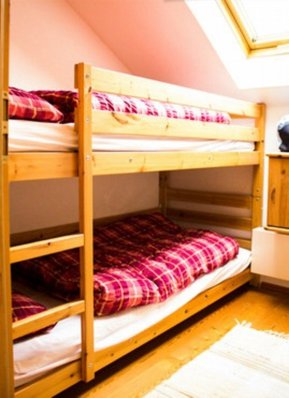 Full size 2m bunkbed in our 2nd (small) bedroom
