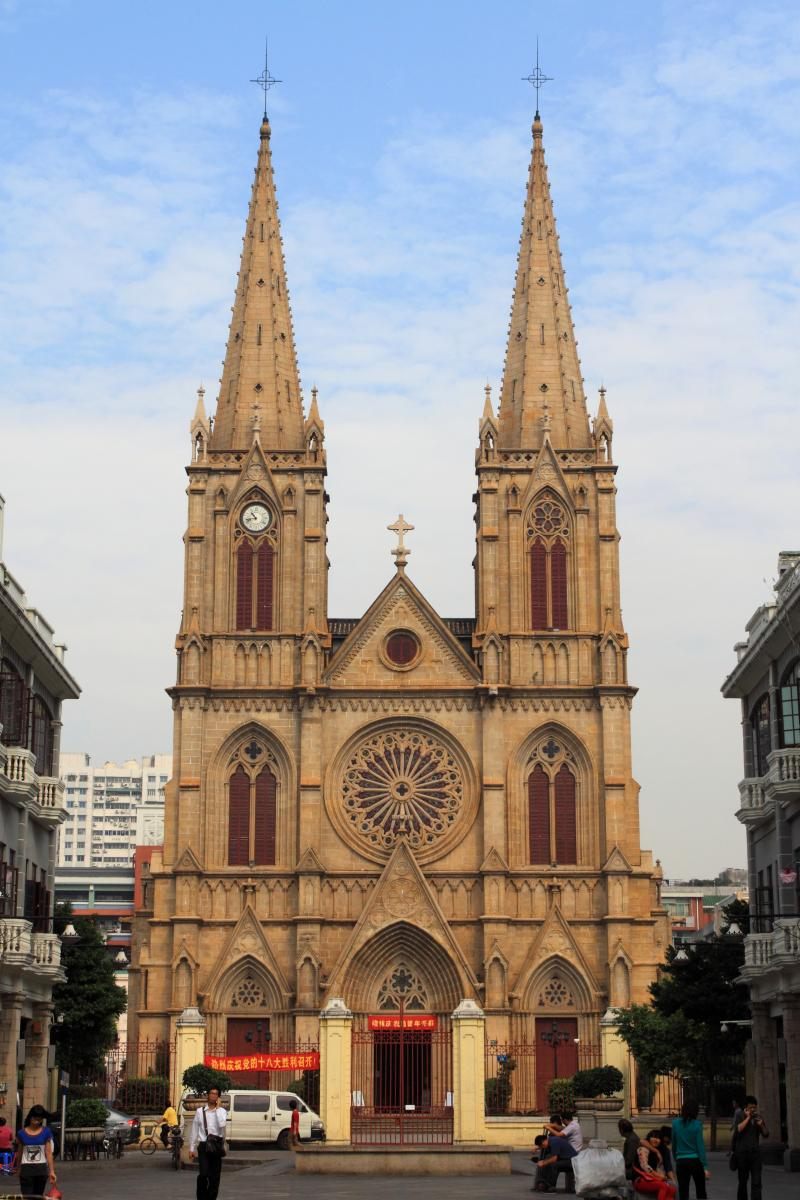 Sacred Heart Cathedral, largest Gothic Church in China