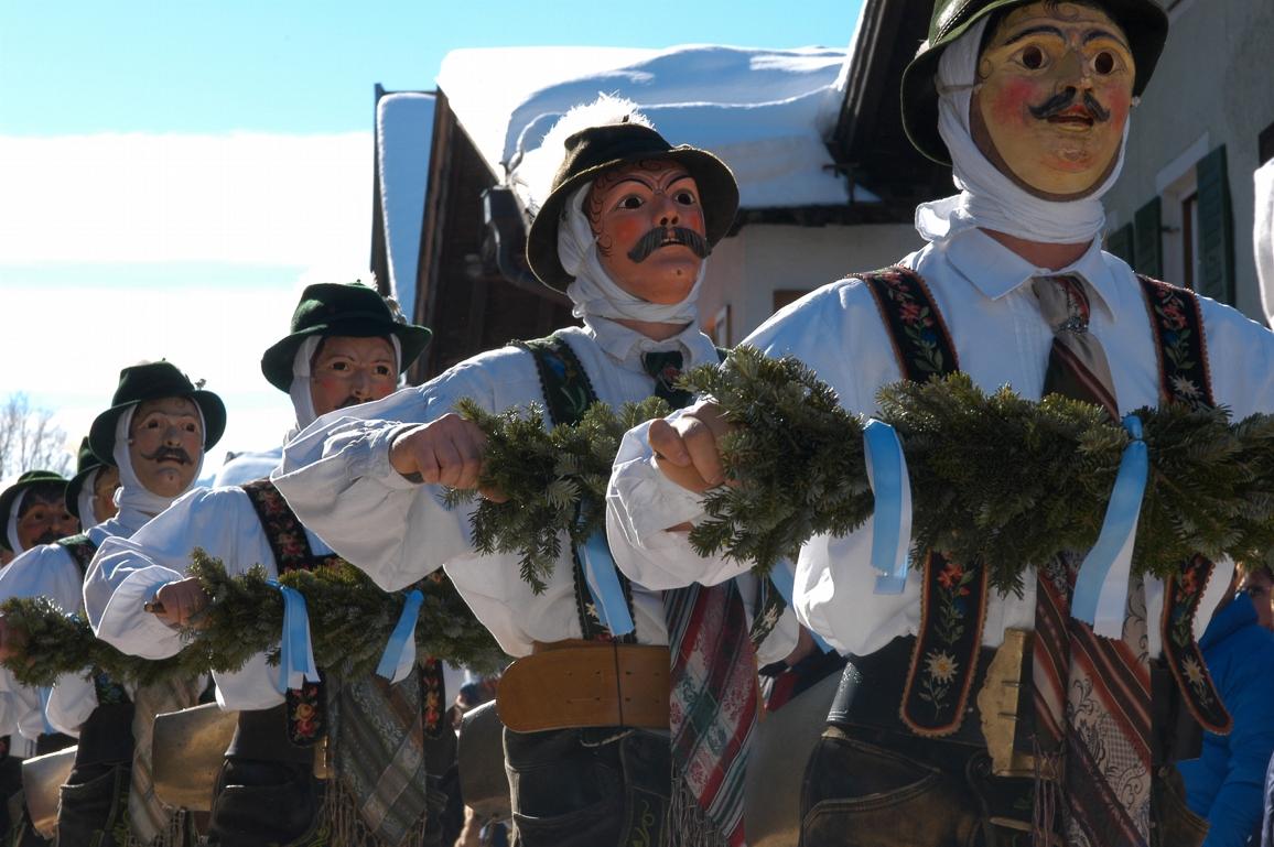 Mittenwald Fasnacht Celebration