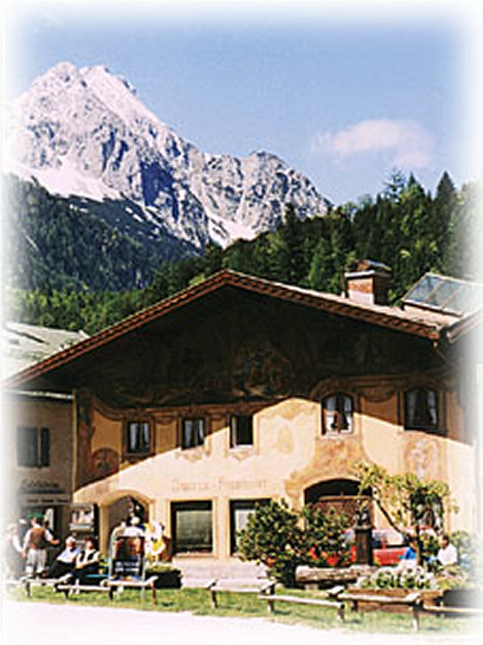 "Old Mittenwald Center ""Gries"", about 1000"