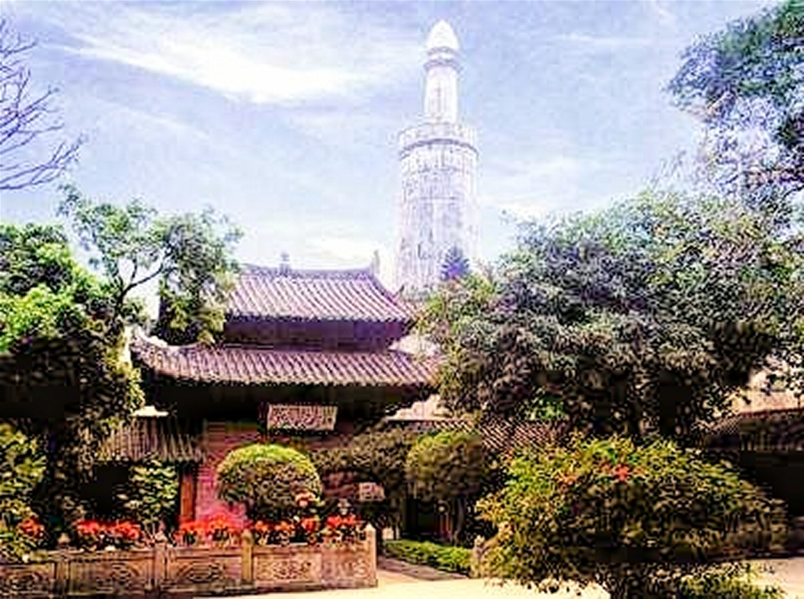 Huisheng Mosque, since 527!, oldest in China
