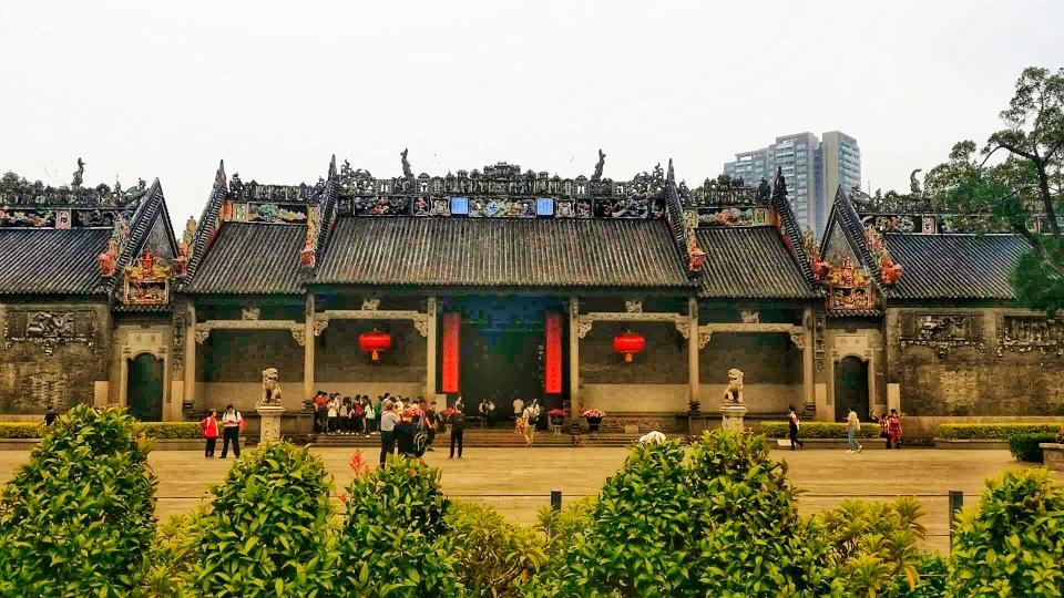 Chen Clan Academy, main entry (5 min walk)