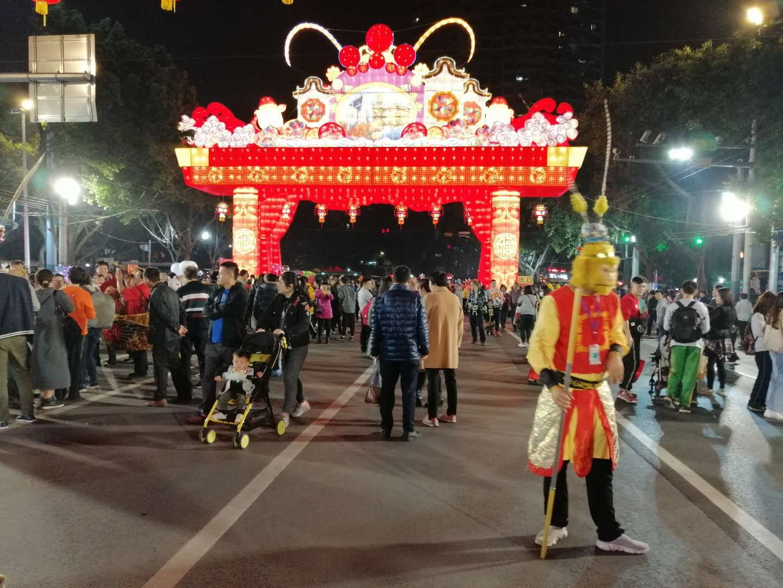 Liwan Lu at Chinese-New-Year's Flower Street