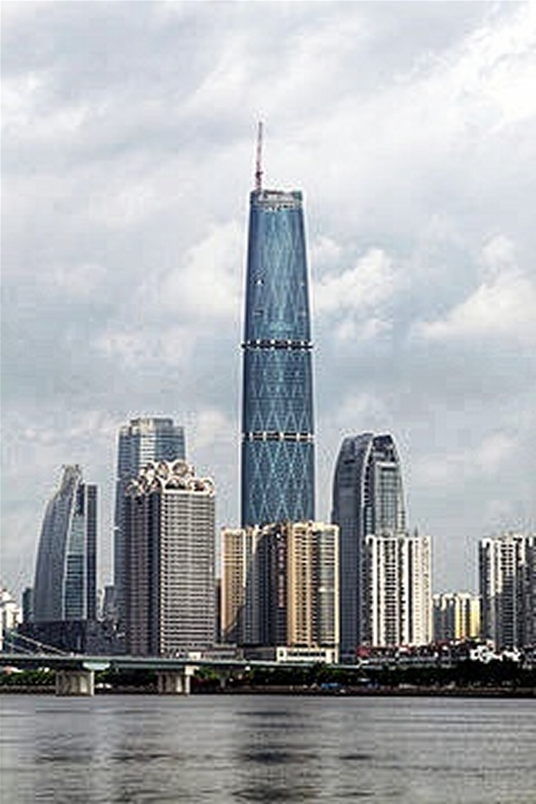 Zhujiang New Town, Financial Center
