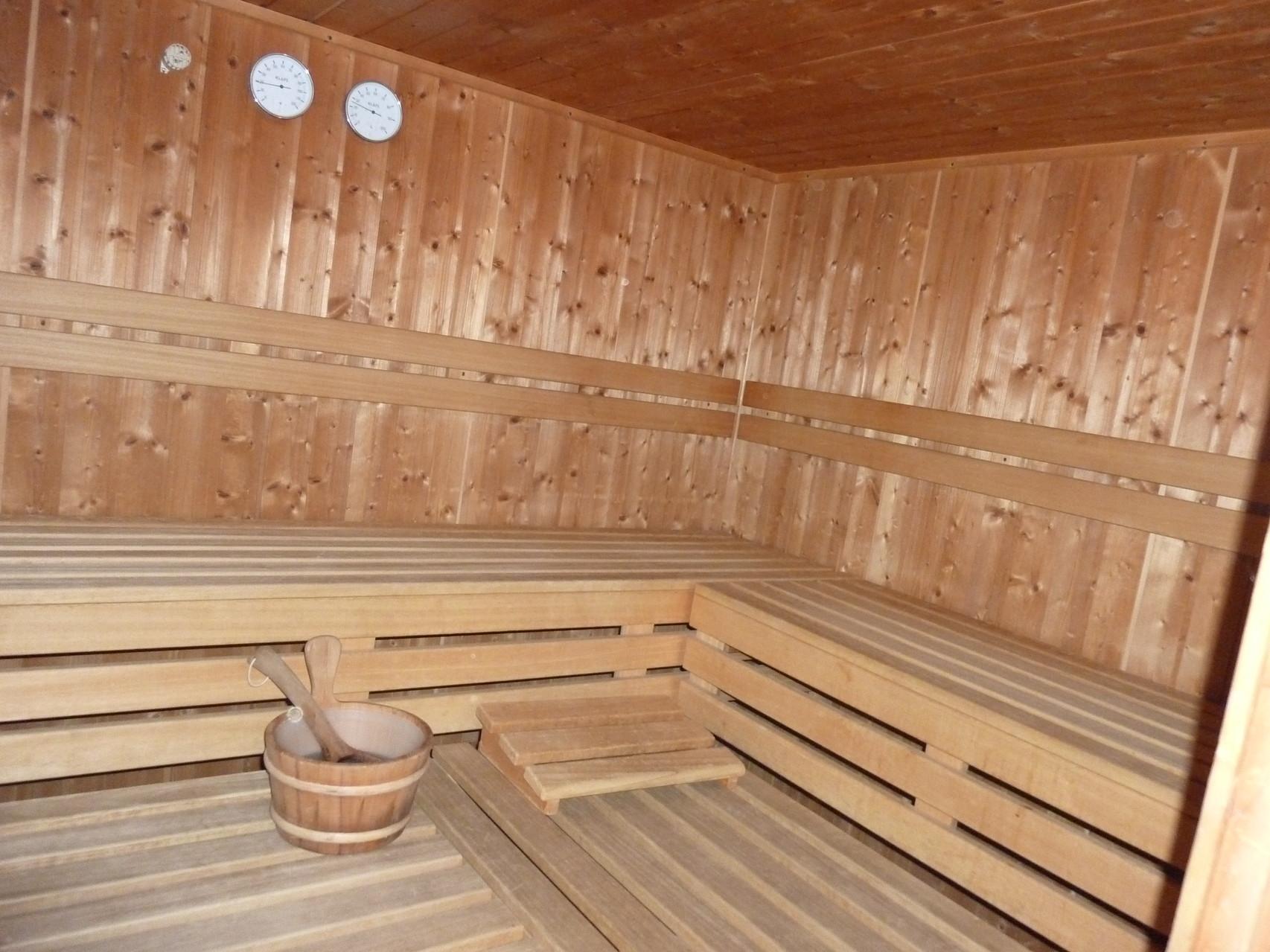 Sauna kostenlos im Gemeinschaftshaus