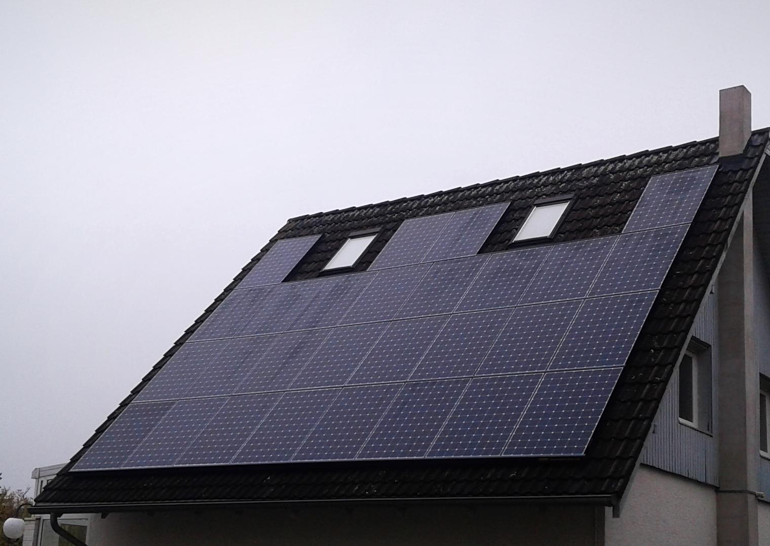 9,156 kWp Sunpower mit Solaredge Wechselrichter inkl. Senec Speicher und Cloud 2.0 in Berlin Rudow