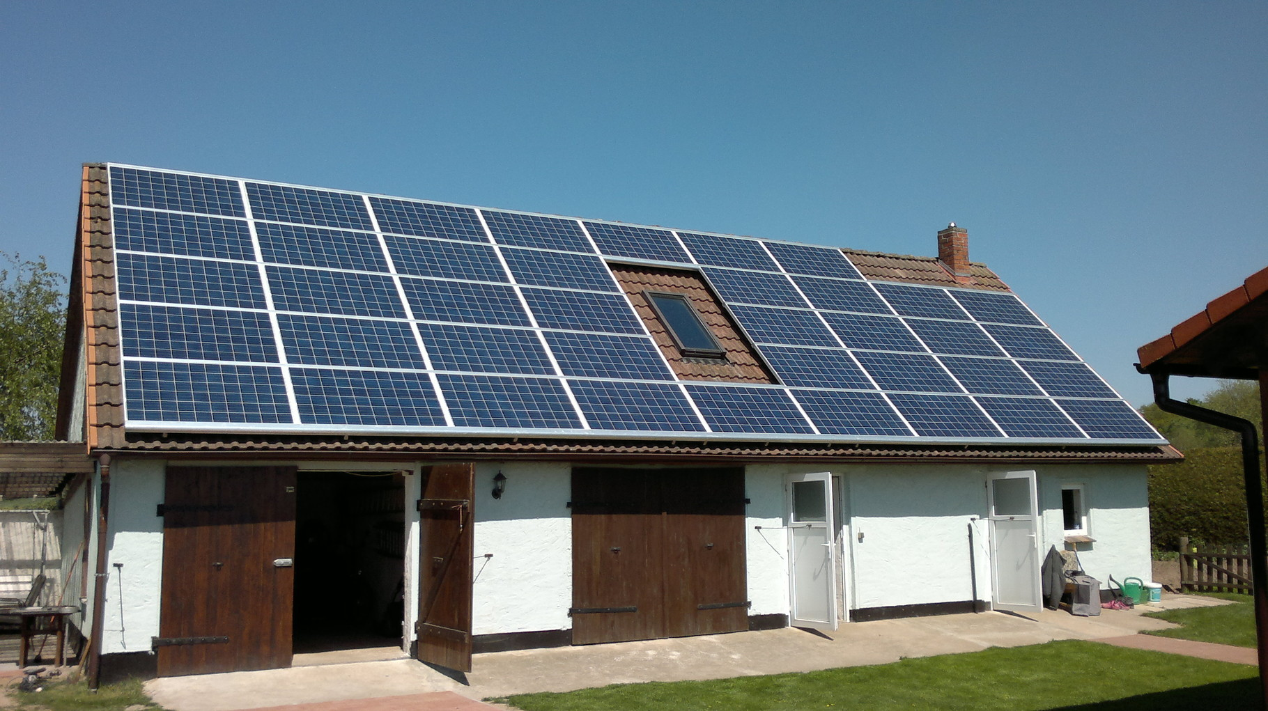 10 kW Aleo Solar in Marlow