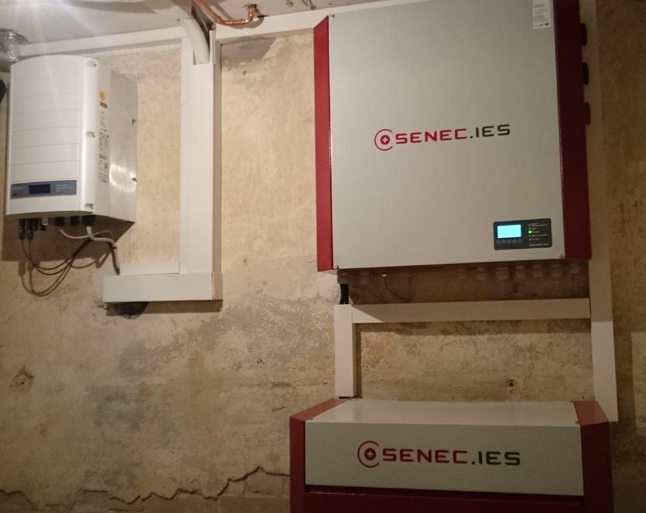 8 kWh Speicher G2 mit EconamicGrid in Berlin