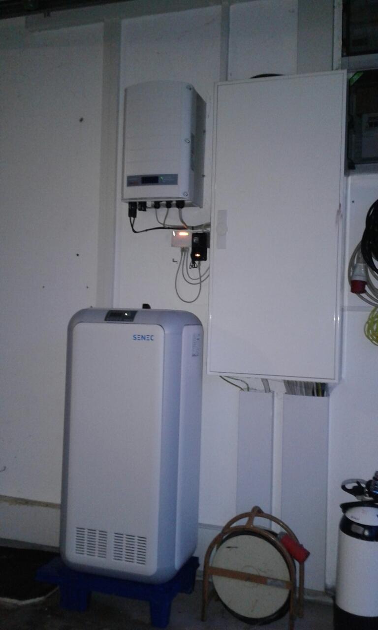 10 kW Li Senec Speicher inkl. Senec.Cloud 2.0
